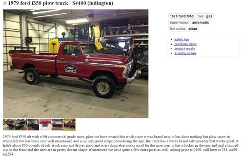 craigslist find   week page  ford truck