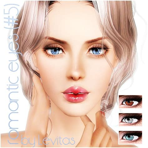 levitas sims3 romantic eyes