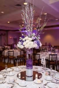 purple wedding centerpieces 25 best ideas about purple centerpiece on