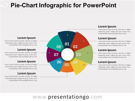 Pie Chart Infographic For Powerpoint Presentationgo Com Ppt Chart