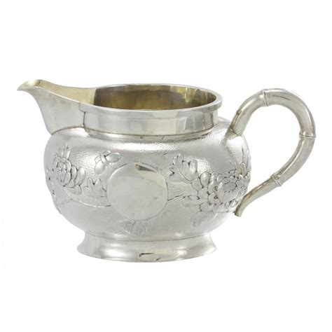teapot ls for sale early 20th century three piece chinese export silver tea