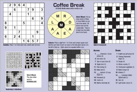 newspaper section crossword pin tools colouring pages on pinterest