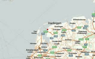 where is harlingen on the map harlingen netherlands location guide