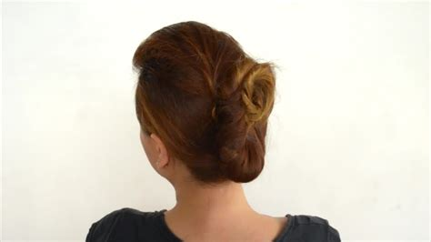 step to step guide on french roll 3 ways to french twist hair wikihow