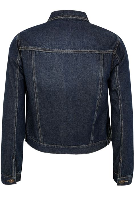 Can You Return Tilly S Gift Cards - indigo denim jacket with front pockets plus size 16 to 32