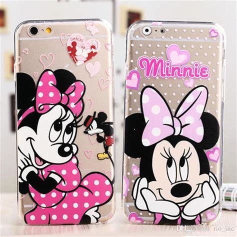 Silikon Minnie Best Quality Iphone 7 Soft Cover Casing soft tpu for samsung s8 plus iphone 7 clear transparent cases samsung s7 edge j5