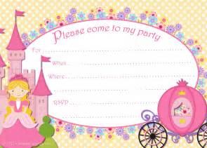 Cinderella Invitation Template by Free Printable Invitations Free Printable
