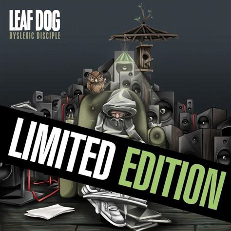 limited rappers with puppies leaf dyslexic disciple limited edition vinyl high focus records
