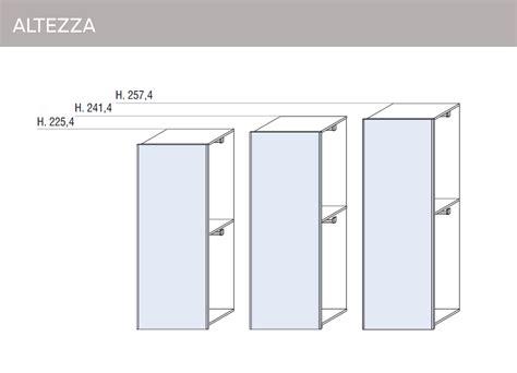 altezza armadi mobili doimo cityline misure e componibilit 224