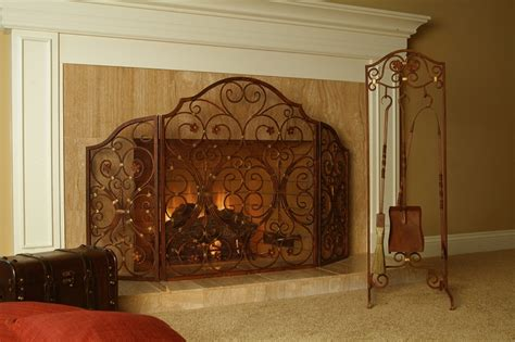 spi home decor provincial 3 panel fireplace screen by spi home 297 you
