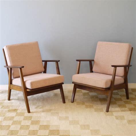 paire fauteuils vintage scandinave design annee 60 la