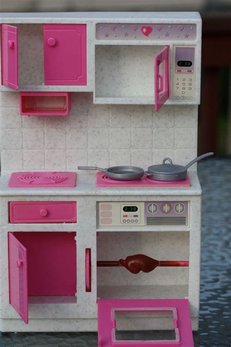 Doll Kitchen Set by Kitchen Set With Accessories Ebay Accessoires