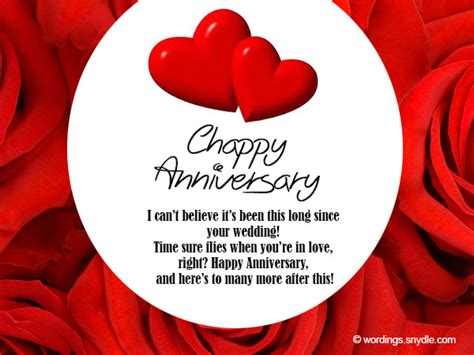 Wedding Anniversary Message To by Wedding Anniversary Messages Wishes And Wordings