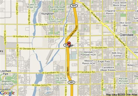 glendale arizona us map map of staybridge suites glendale glendale