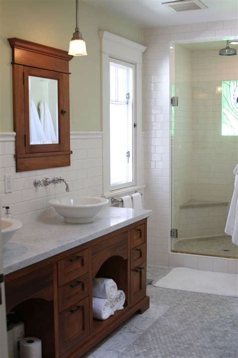 craftsman bathrooms kathleen matt s california craftsman house tour