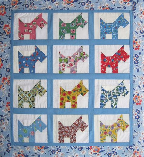 simple quilt pattern for beginners 79 best scottie dogs quilt images on pinterest dog