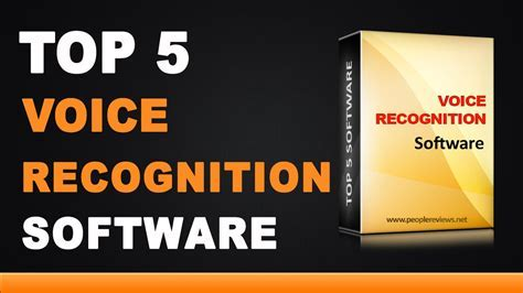 Best Voice Recognition Software   Top 5 List   YouTube