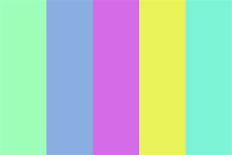 90s colors 90s aesthetic color palette