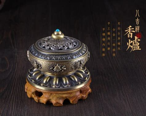 home decor nepal nepal incense burner alloy bronze mini incense burner