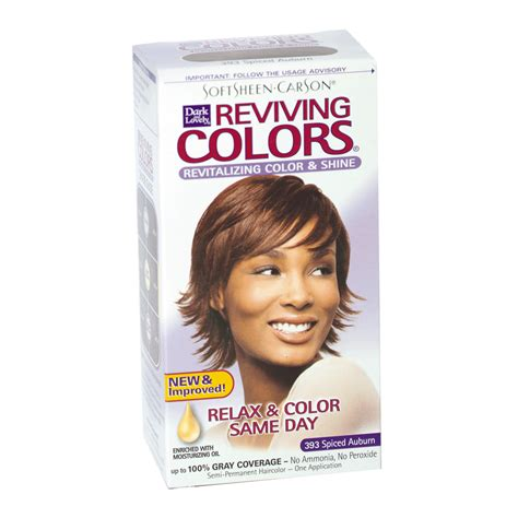 dark and lovely reviving colors semi permanent haircolor 393 dark and lovely reviving semi permanent hair color spice
