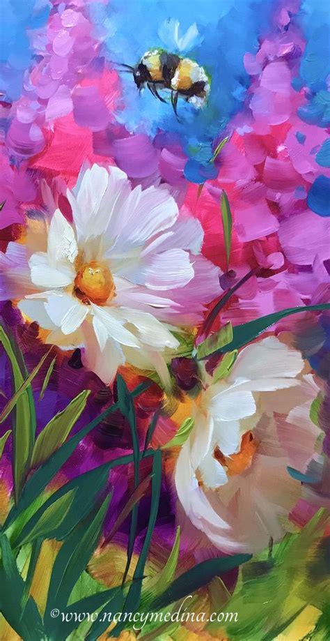paintings of flowers best 25 painted flowers ideas on