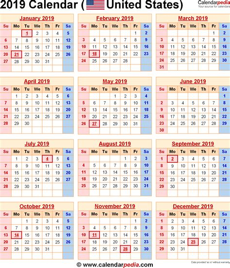 image result calendar holidays usa today
