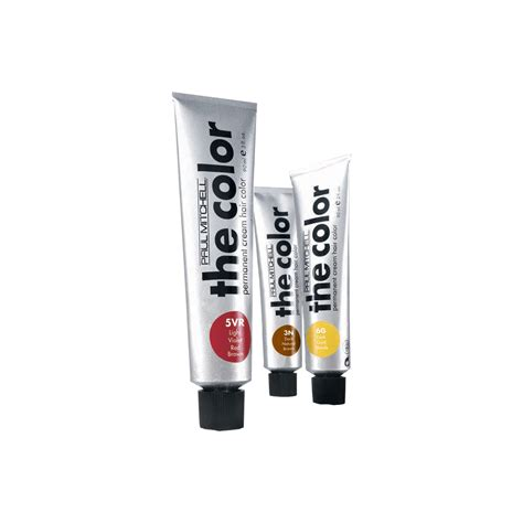 the color permanent color paul mitchell