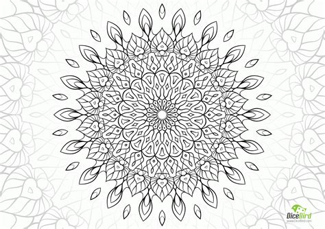Complex Mandala Coloring Pages Printable Coloring Home Complex Mandala Coloring Pages