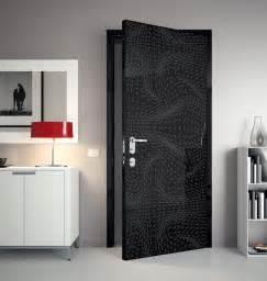 Home Design Interior Doors by Black 3d Door Bedroom Interior Design Futuristic Doors
