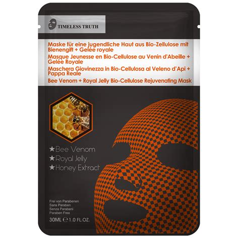 tt bio cellulose bee venom royal jelly miracle mask ttmask fr