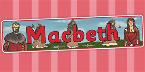 biography banner ks2 macbeth display banner shakespeare story ks2 stories