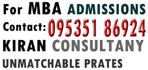 Best Mba Consultants In Bangalore by October 2013