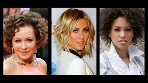 capelli diversi acconciature capelli ricci corti donne
