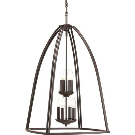 progress chandeliers progress lighting tally collection 8 light antique bronze