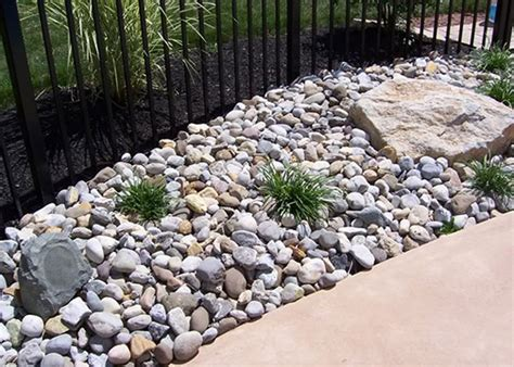 river rocks for landscaping decorative ground cover hardscape and masonry articles