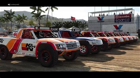 baja truck racing dirt 4 landrush pro4 trophy truck racing baja