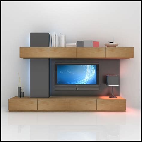 tv wall unit modern design x 15 3d models cgtrader com tv wall unit modern design x 06 3d models cgtrader com