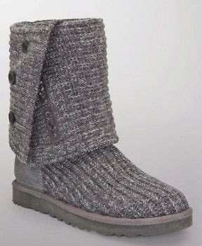 ugg cardy classic knit boot on sale ugg classic cardy knit boots 99 regularly 160