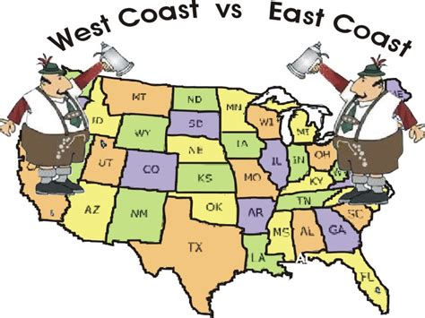 backpacking in the usa east coast vs west coast images west coast vs east coast brew off competition cross