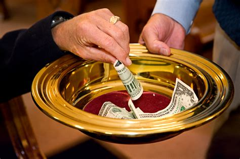 paying tithes to the church