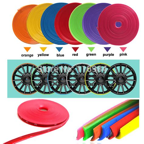 Wheel Protector Diskon 8meter x universal car wheel trim alloy wheel arch