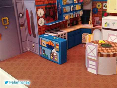 Papercraft Shows 2014 - awesome papercraft dioramas of popular tv show sets