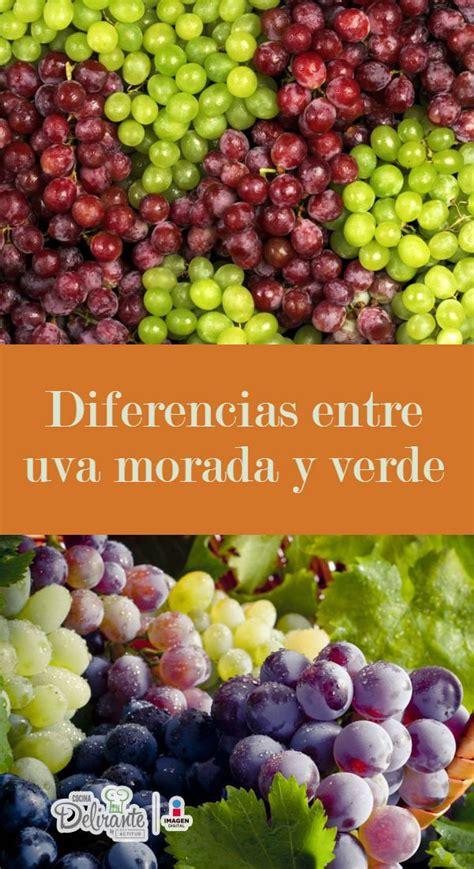 Diferencias Entre Uva Verde Y Morada Cocinadelirante | diferencias entre uva verde y morada cocinadelirante