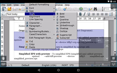 comment faire un organigramme sur libreoffice 4 3 andropen office android apps on play