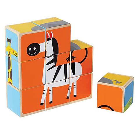 Puzzle Block Animal Geo Animal zoo animals blocks puzzle educational toys planet