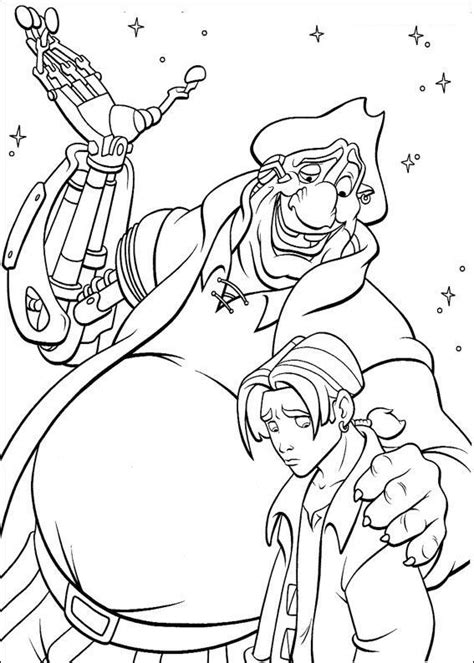 coloring page treasure planet coloring pages 56