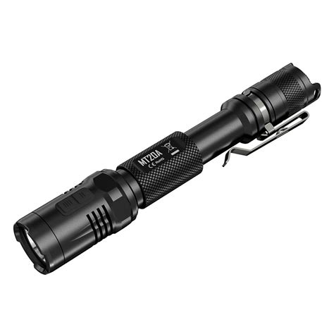Senter Led Cree nitecore mt20a senter led cree xp g2 360 lumens black
