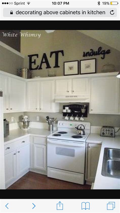 Decorating Above Kitchen Cabinets With High Ceilings 43 Best White Appliances Images On Kitchen White Kitchens And Kitchen Cabinets