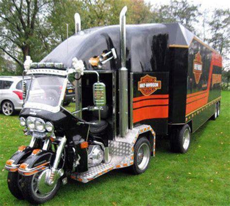 image of the week. harley mini semi truck. at cyril huze