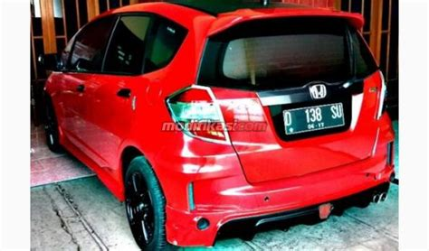 Grill Custom Honda Jazz 2012 Mugen Tipe Racing 2012 honda jazz matic modif